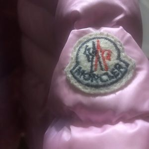 Authentic baby girl's Moncler coat 3-6mos